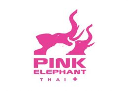 Pink Elephant (Urban Thai) logo